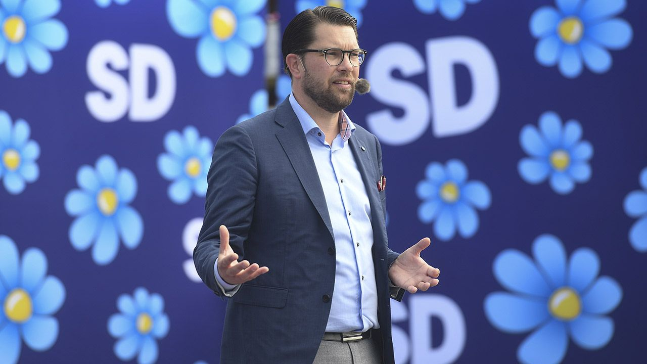"""""""Dekada hegemonii socjaldemokratów skończyła się"""" (fot. arch.PAP/EPA/Fredrik Sandberg)"""