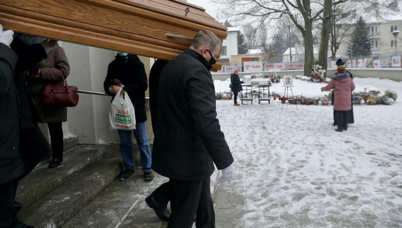 Waldemar Chrostowski zmarł 8 stycznia. Miał 78 lat (fot. PAP/T.Gzell)