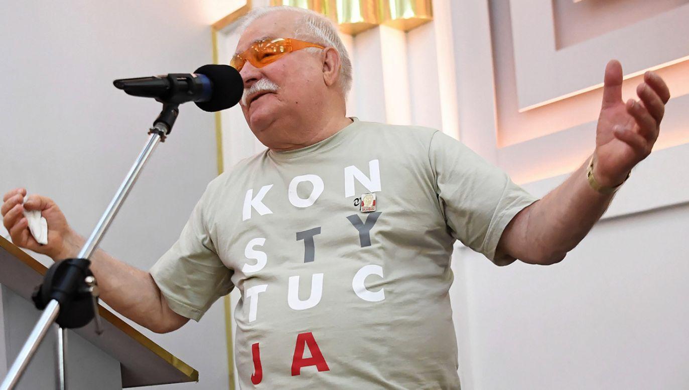 Były prezydent RP Lech Wałęsa (fot. PAP/Piotr Nowak)