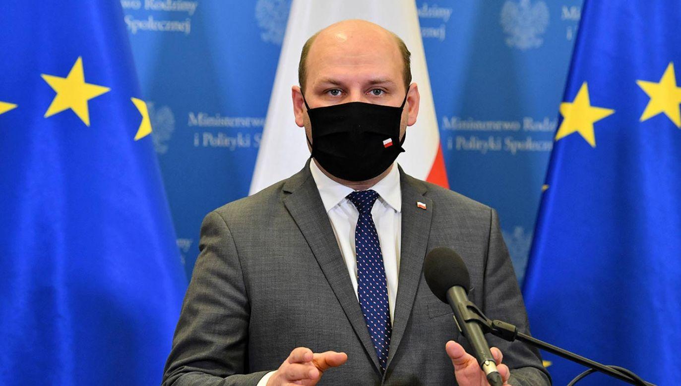 Szymon Szynkowski vel Sęk (fot. PAP/Radek Pietruszka)
