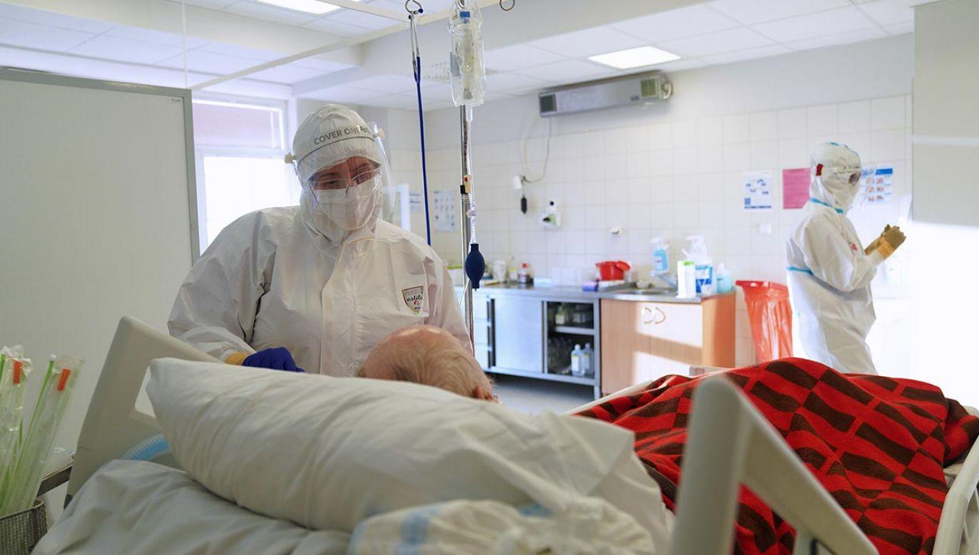 Nowe dane o epidemii w Polsce (fot. PAP/Leszek Szymański)