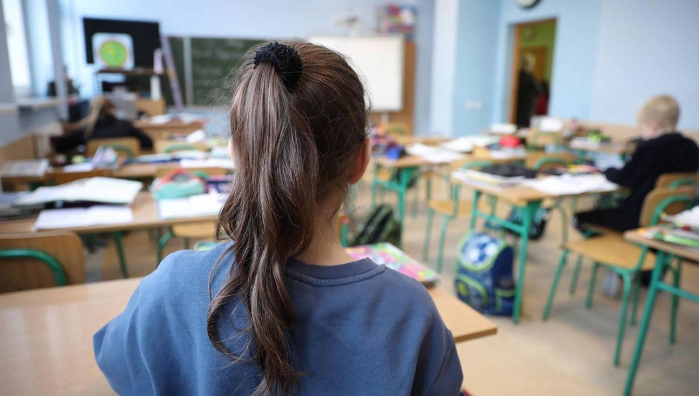 Nauka w szkołach a kolejna fala epidemii (fot. PAP/Leszek Szymański)