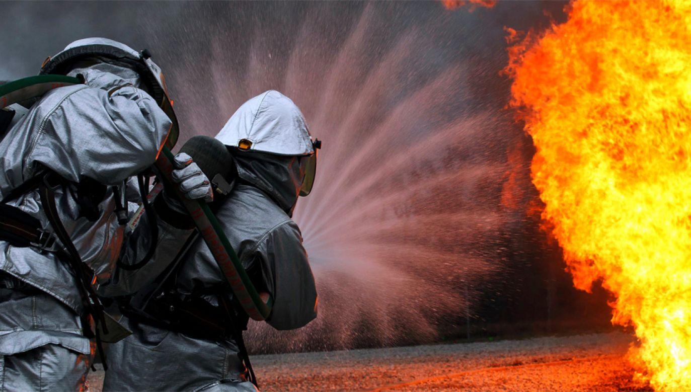 Wnukowie zamiast wezwać strażaków poszli po papierosy (fot. DOD)
