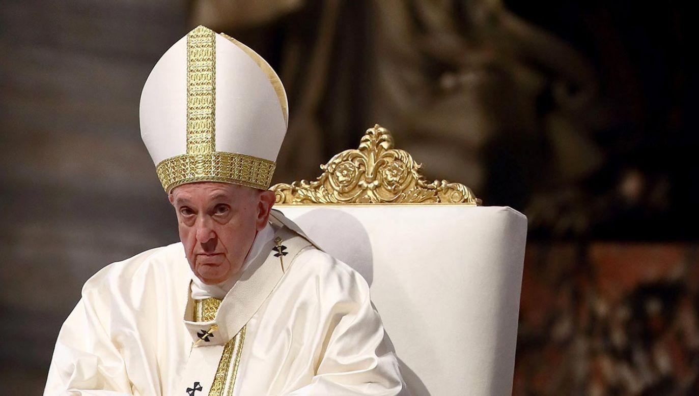 Papież Franciszek (fot. Vatican Pool/Getty Images)