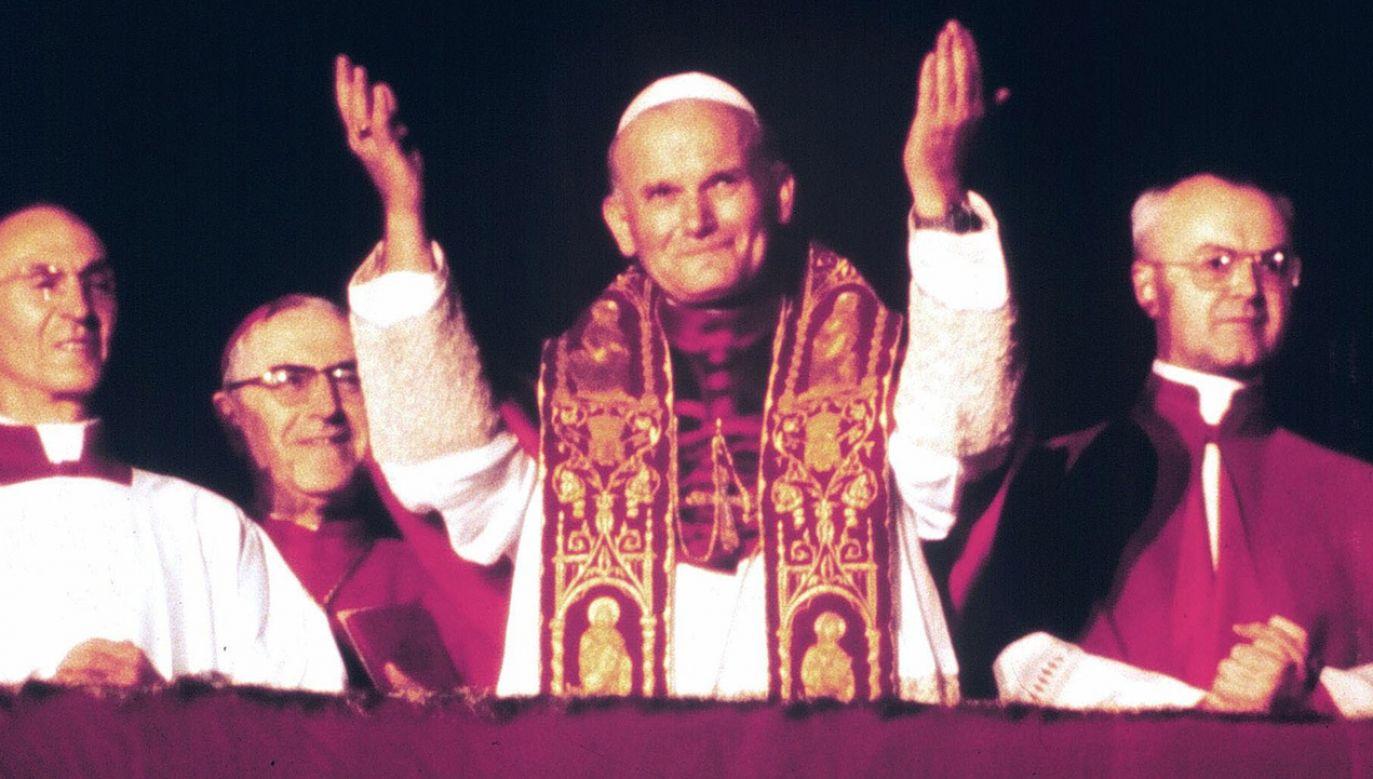 16 października 1978 roku, kardynał Karol Wojtyła został wybrany na papieża (fot. arch.PAP/EPA)