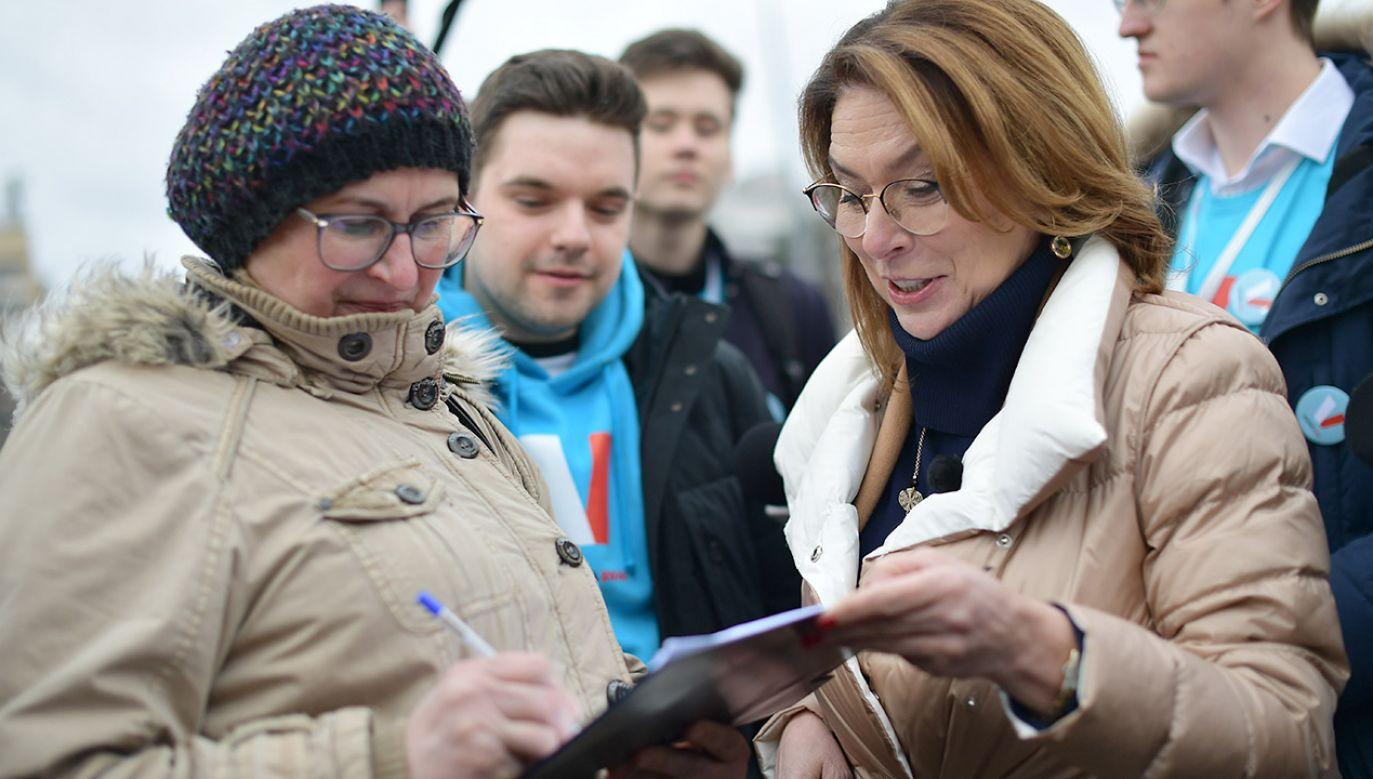 Małgorzata Kidawa-Błońska (fot. PAP/Marcin Obara)