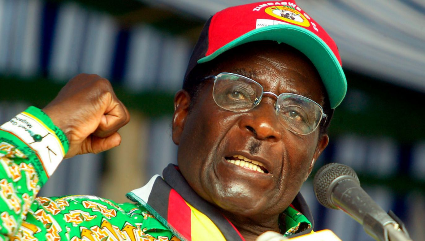 Robert Mugabe miał 95 lat (fot. PAP/EPA/STR)