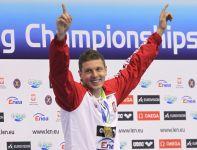 Wicemistrz świata z Szanghaju w Szczecinie wyprzedził rekordzistę świata Jewgienija Korotyszkina (fot. PAP)