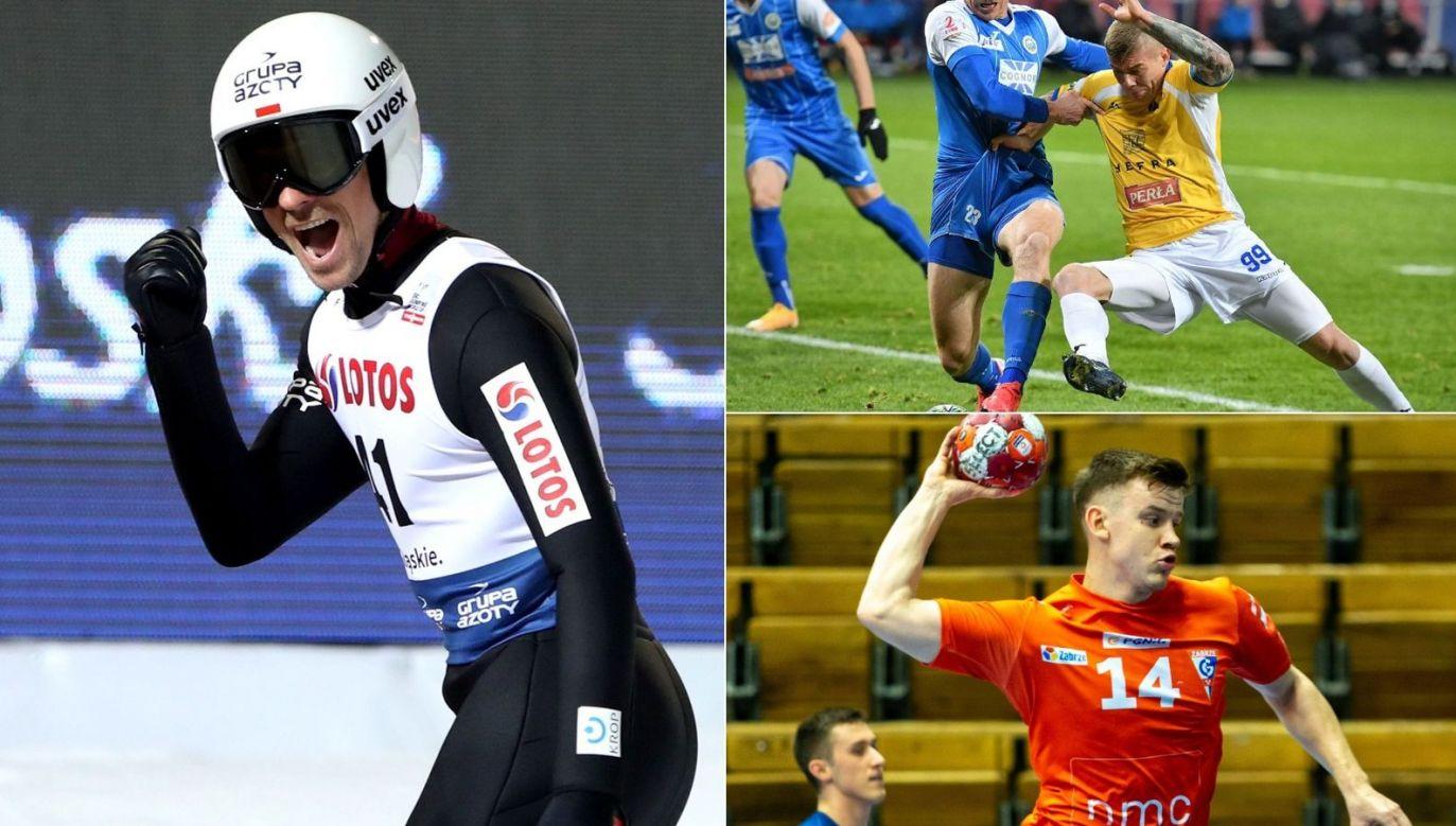 Niedziela w TVP Sport i TVPSPORT.PL to m.in. PŚ w skokach w Ruce, mecze 2. ligi oraz piłki ręcznej (fot. PAP/400mm.pl)
