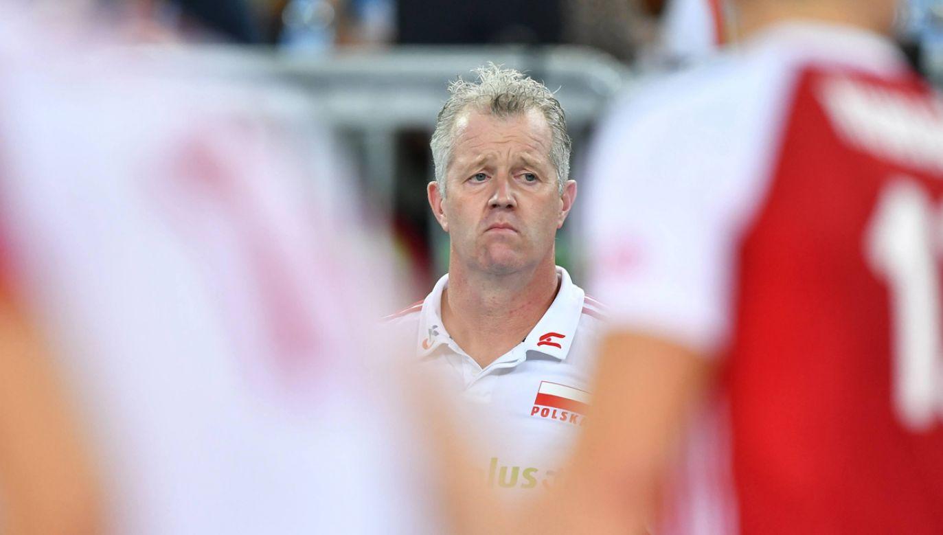 Trener Polaków Vital Heynen (fot. arch. PAP/Maciej Kulczyński)