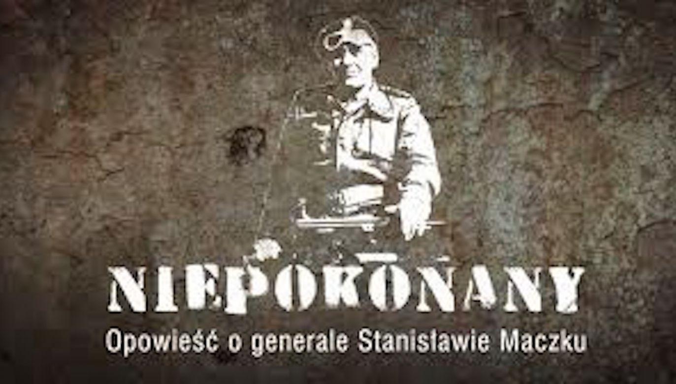 Film w reżyserii Rafała Geremka – jak dodała placówka – jest próbą przybliżenia najważniejszych wydarzeń z życia i walki dowódcy 1. Dywizji Pancernej (fot. Materiały prasowe)