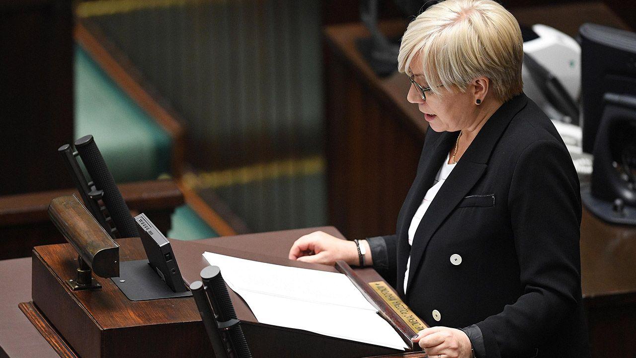 Zdaniem prezes Trybunału, orzecznictwo TK miało istotne znaczenie dla ochrony konstytucyjnych wolności i praw obywateli (fot. arch.PAP/Radek Pietruszka)