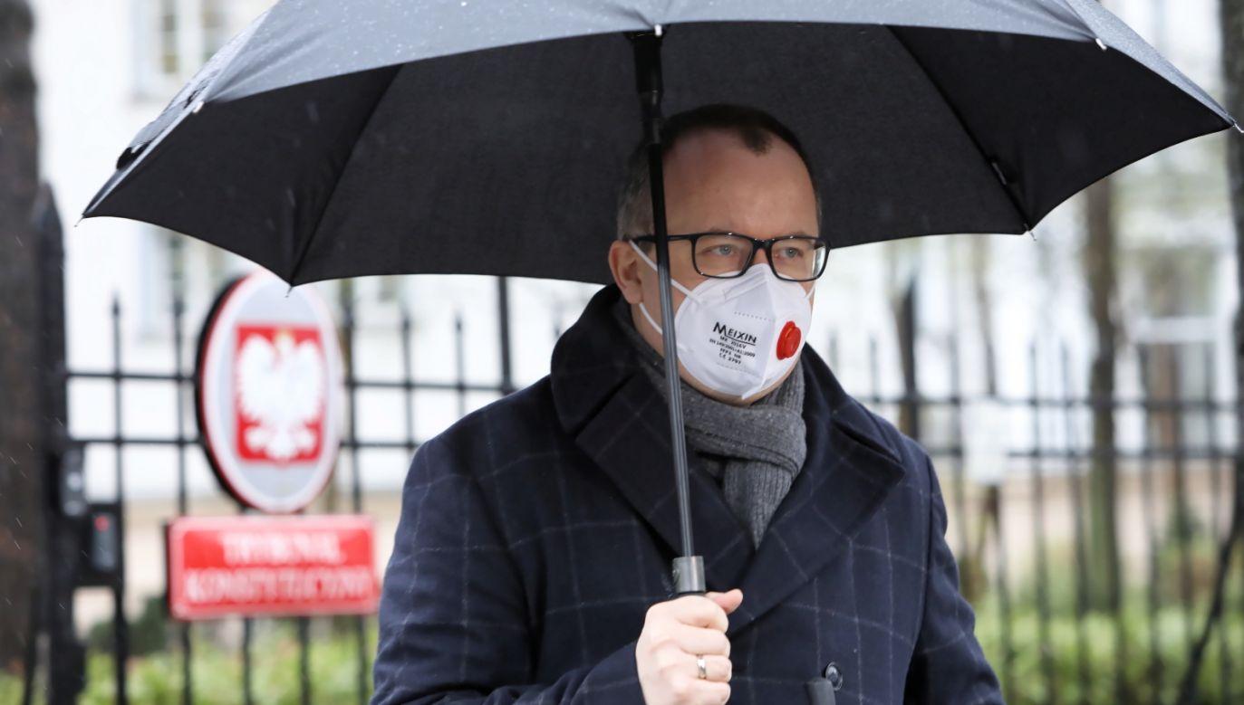 Rezcznik Praw Obywatelskich Adam Bodnar (fot. PAP/Leszek Szymański)