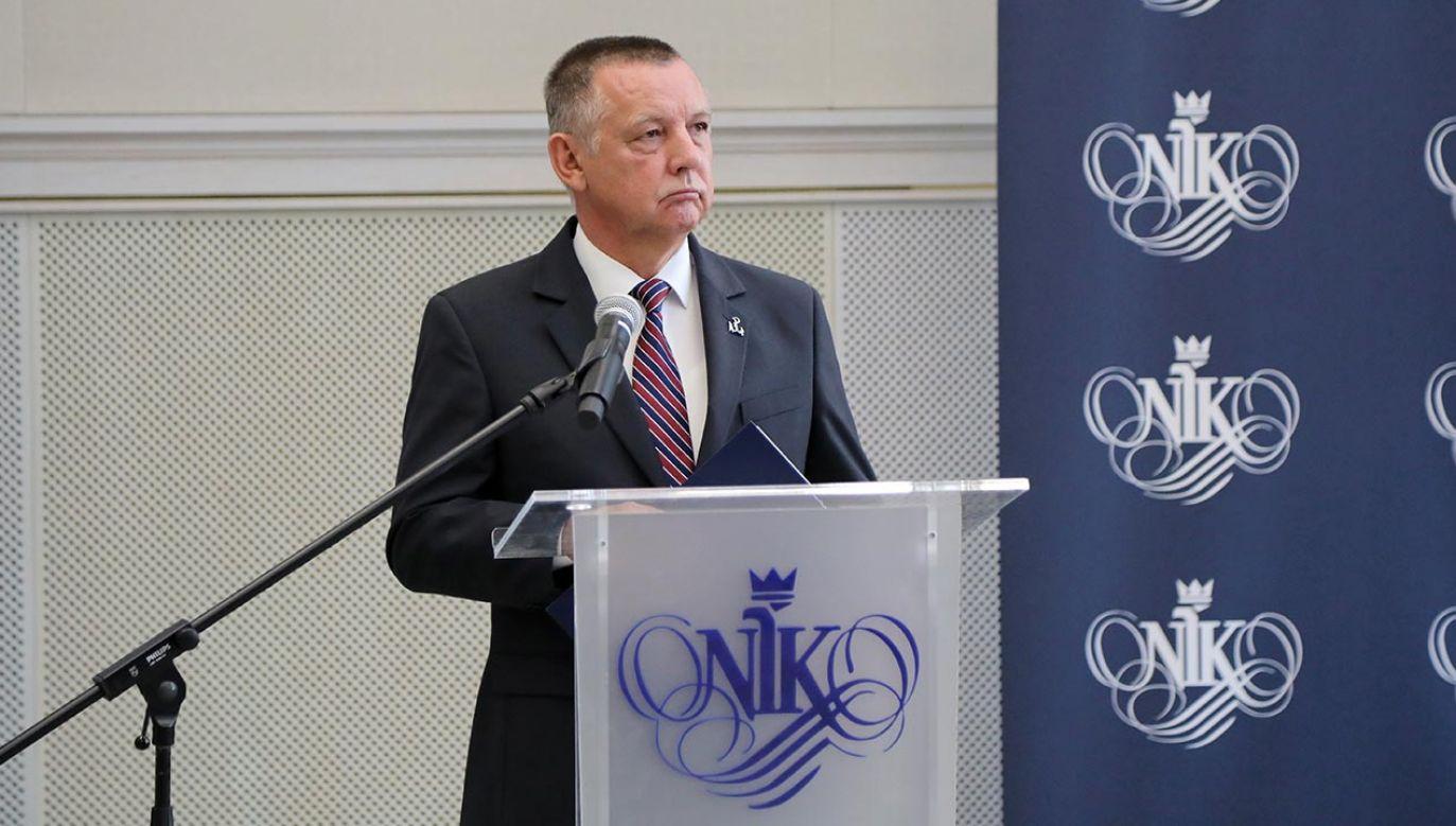 Marian Banaś (fot. PAP/Wojciech Olkuśnik)