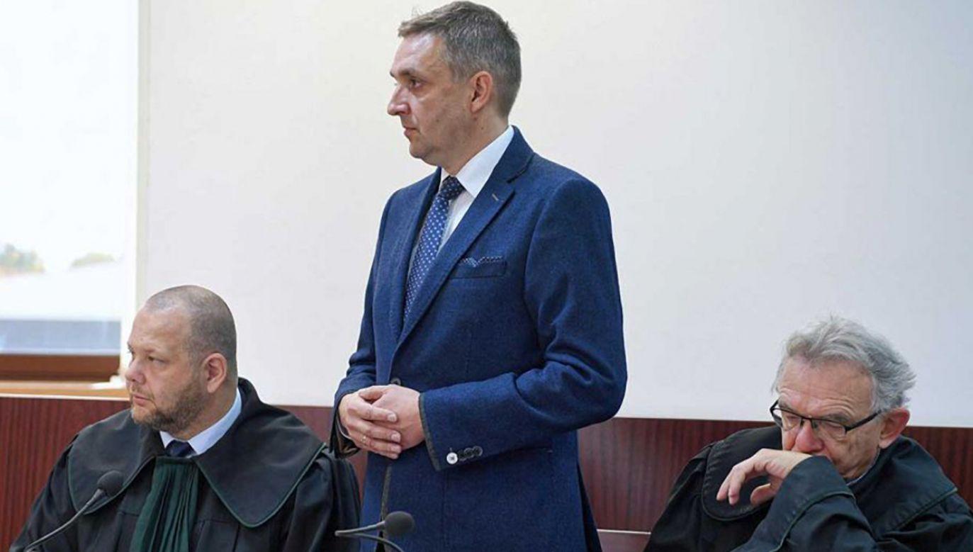 Kiełb zgodził się na podawanie jego danych osobowych i publikację wizerunku (fot. arch. PAP/Darek Delmanowicz)