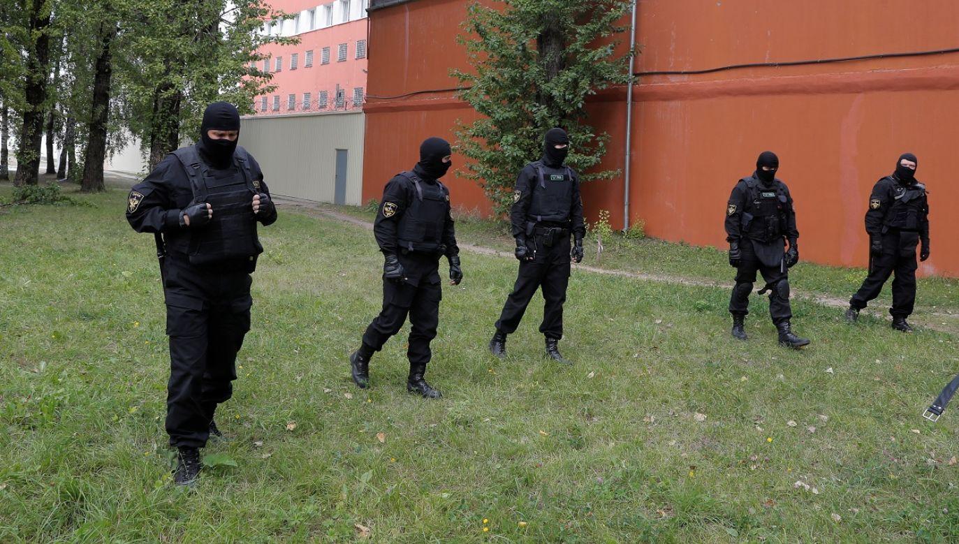 Podczas powyborczych protestów zatrzymano około 7 tysięcy ludzi (fot. Reuters/Vasily Fedosenko)