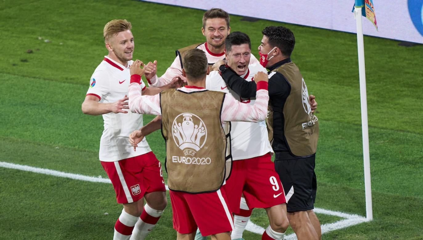 Polska zremisowała z Hiszpanią w sobotę (fot. Getty)