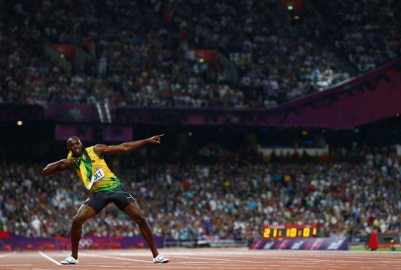 Cały stadion znów zobaczył słynną strzałę (fot.Getty Images)