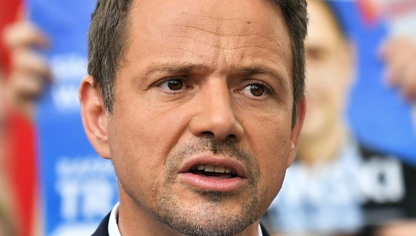 Wybory prezydenckie 2020. Rafał Trzaskowski (fot. PAP/Maciej Kulczyński)