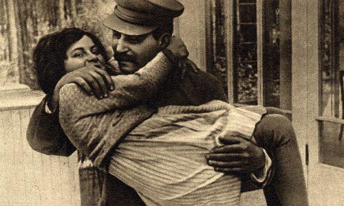 Swietłana z ojcem Józefem Stalinem (fot. Materiały prasowe)
