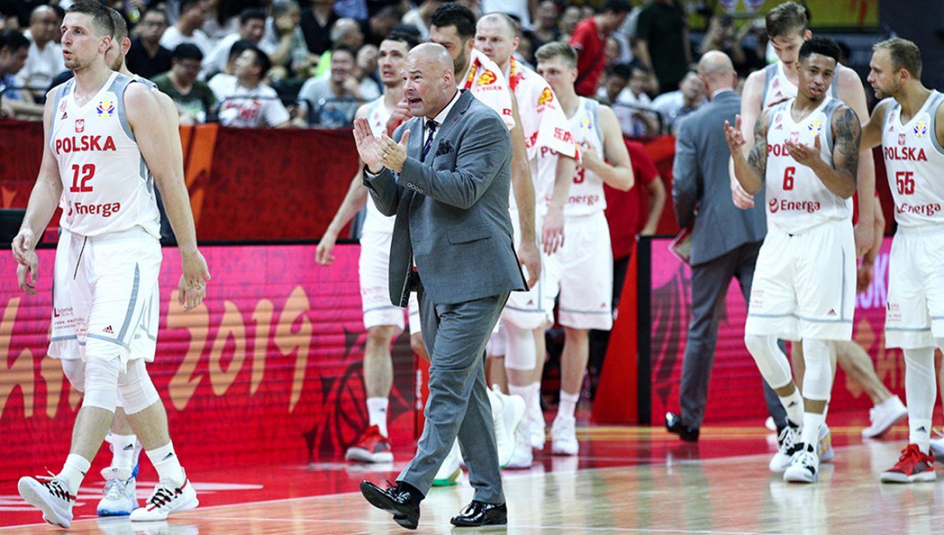 Mike Taylor szkoli polskich koszykarzy od stycznia 2014 roku (fot. Zhong Zhi/Getty Images)