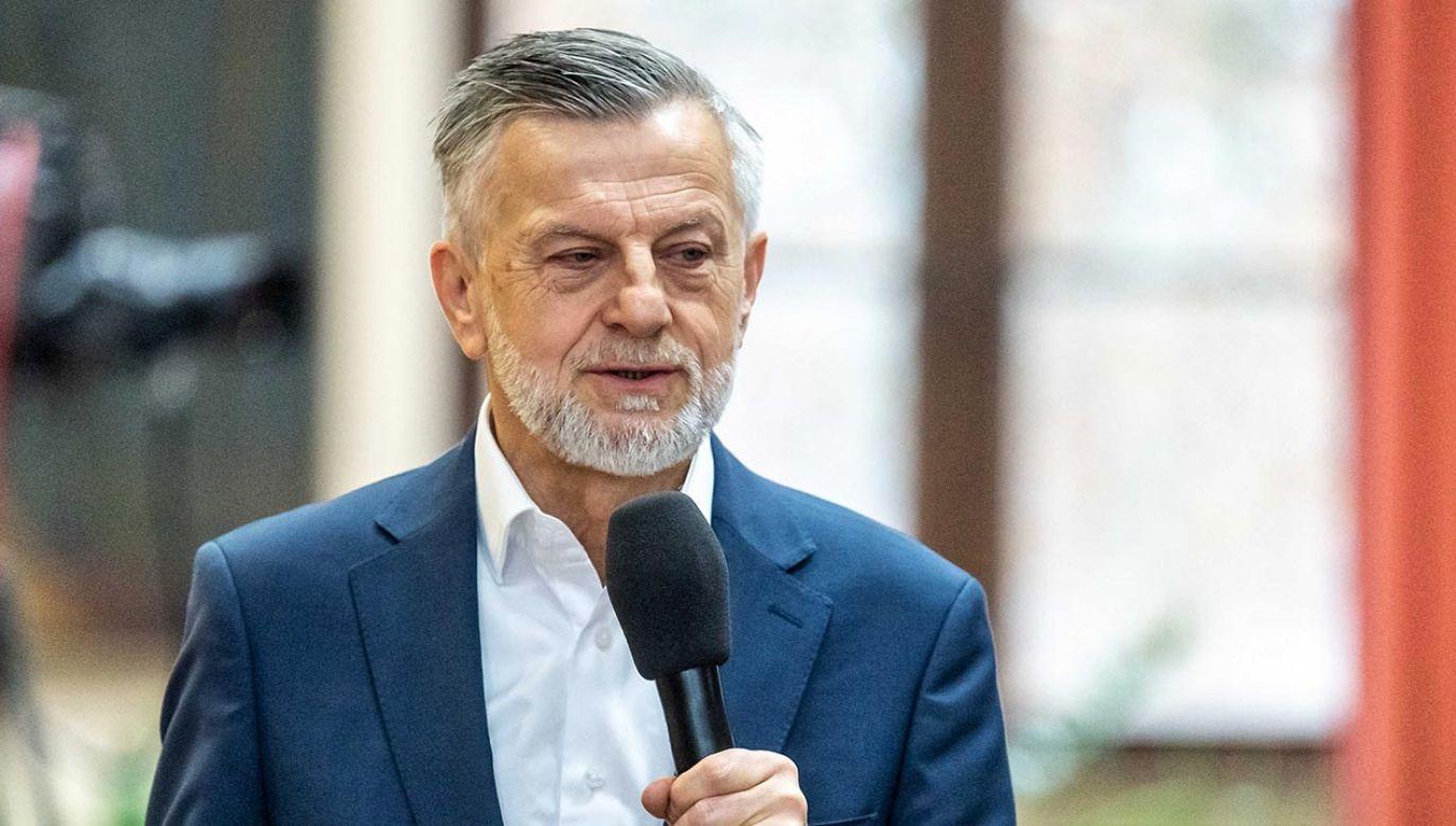 Komisja odmówiła nadania tytułu profesora socjologowi dr. hab. Andrzejowi Zybertowiczowi (fot. PAP/Tytus Żmijewski)