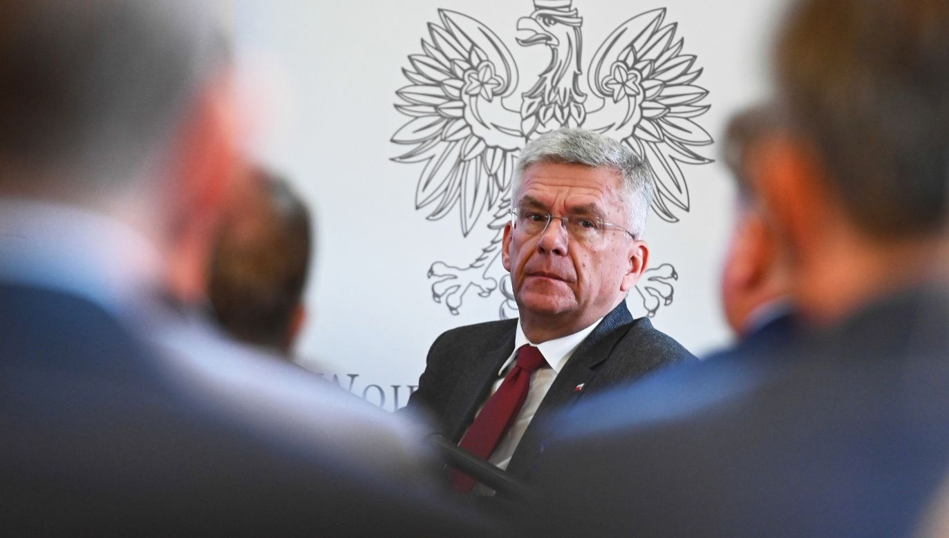 Marszałek Senatu Stanisław Karczewski (fot. PAP/Jan Dzban)