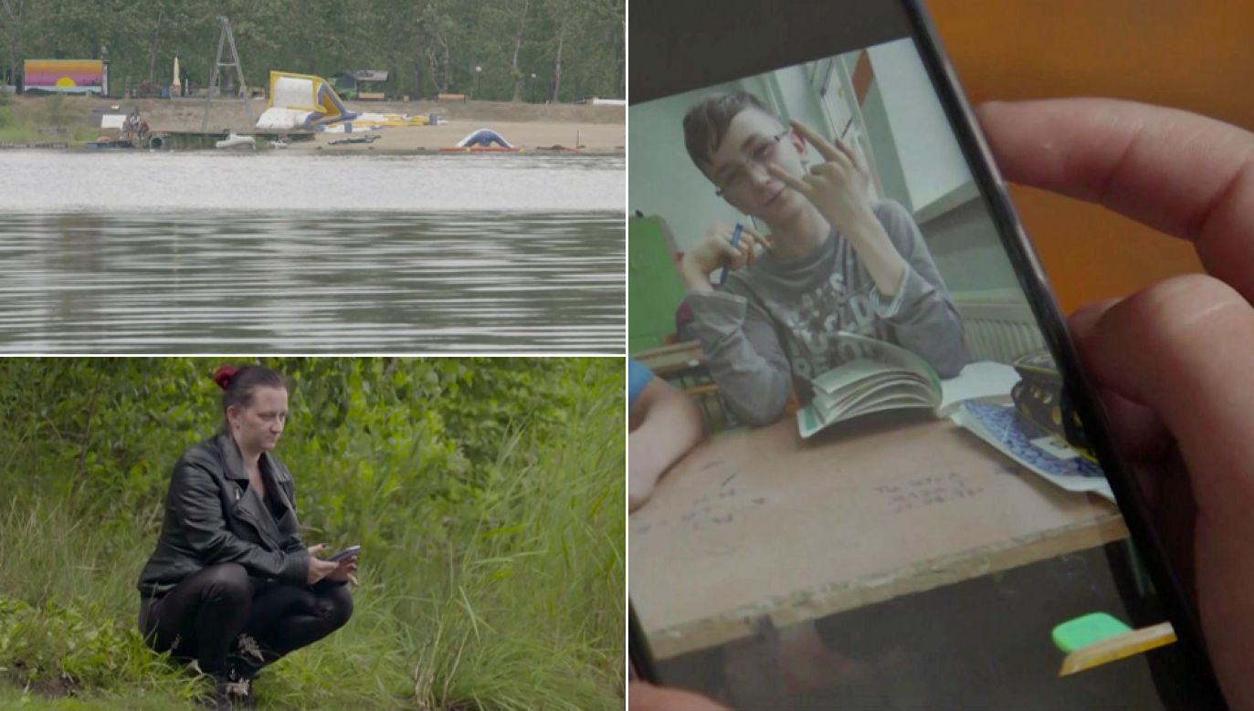 Pani Aneta Sybis nie uwierzyła w oficjalną wersję śmierci syna (fot. TVP1)