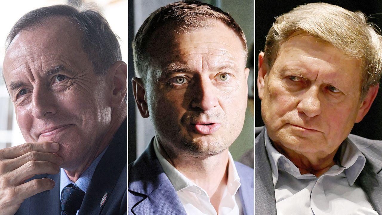 Polityczny Przegląd Tygodniowy (fot. PAP/Andrzej Lange, Leszek Szymański, Darek Delmanowicz)