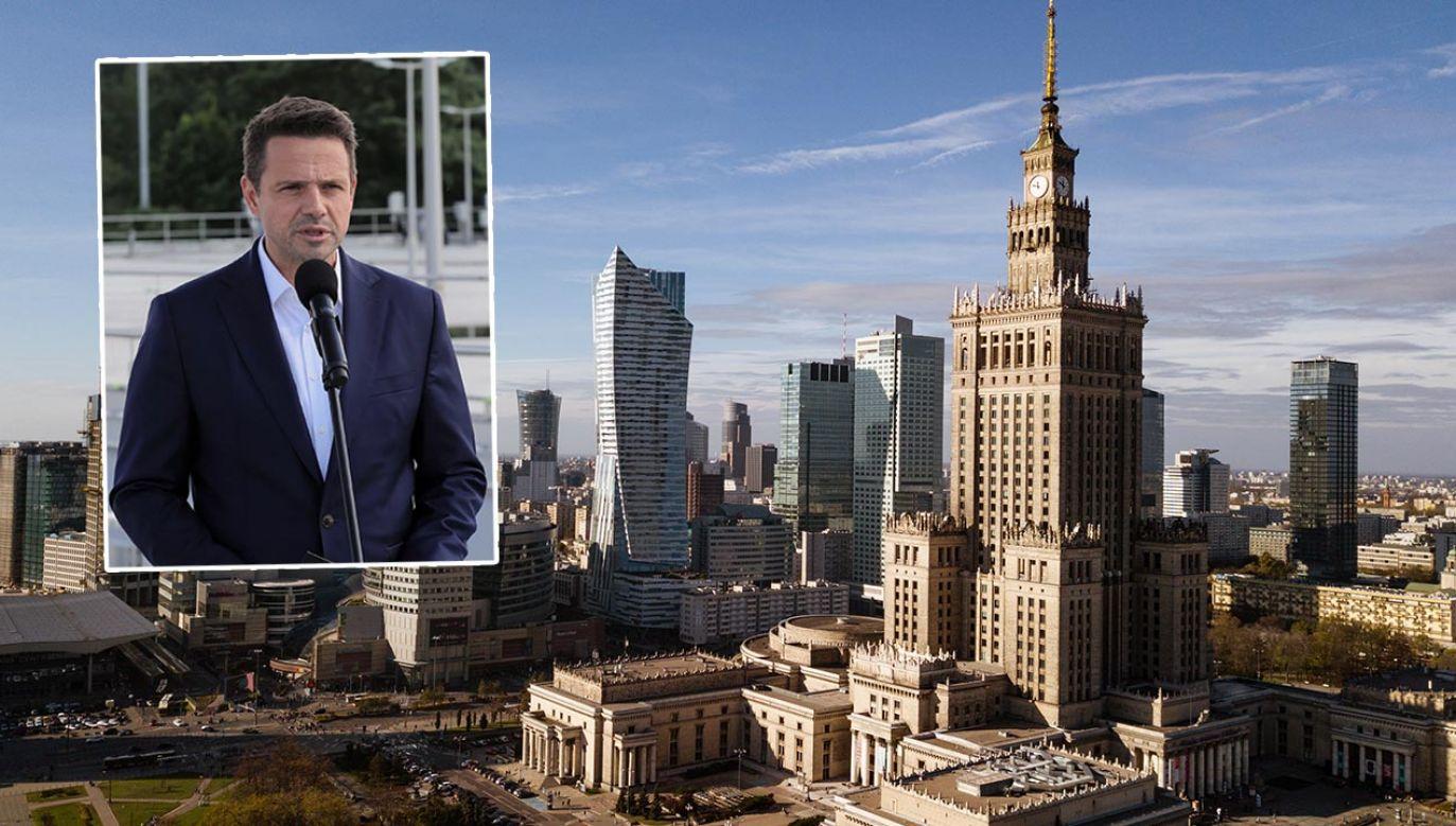 Jak Trzaskowski zarządza stolicą? (fot. Shutterstock/Paul Antonescu;  PAP/Paweł Supernak)